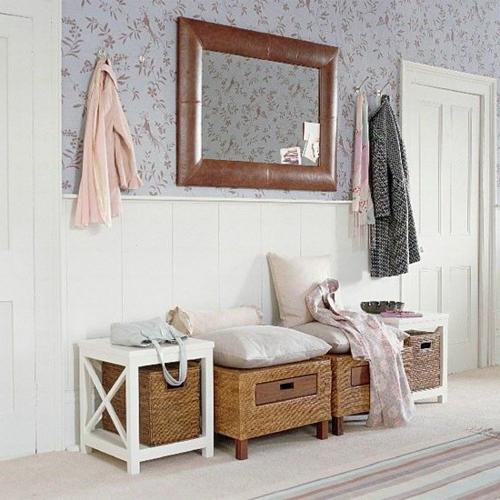 flurgestaltung 40 schlaue und platzsparende l sungen f r ihr zuhause. Black Bedroom Furniture Sets. Home Design Ideas