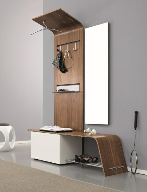 flur gestaltung minimalistisches modernes system