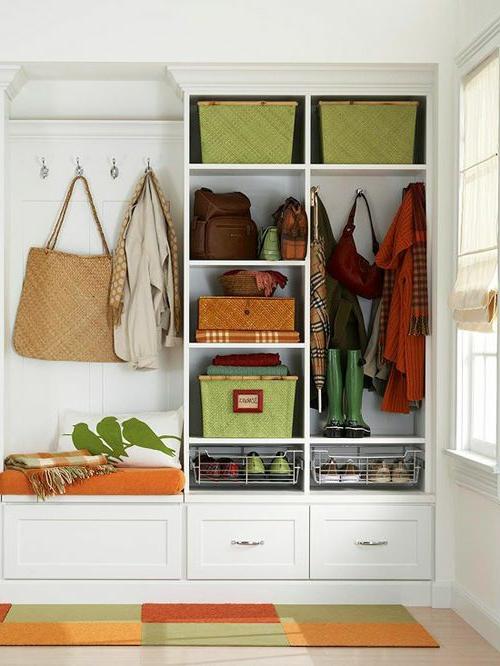 gestaltung flur garderobe verschiedene. Black Bedroom Furniture Sets. Home Design Ideas