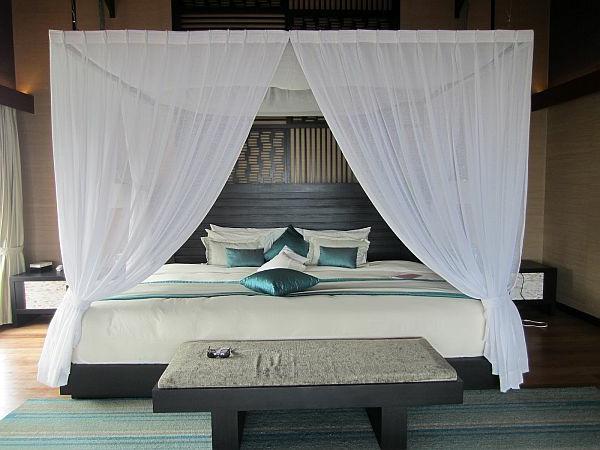 Bett Mit Vorhang | Die schönsten Einrichtungsideen