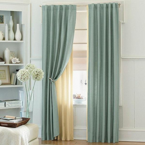 gardinen und vorh nge auf vier unterschiedlichen weisen. Black Bedroom Furniture Sets. Home Design Ideas