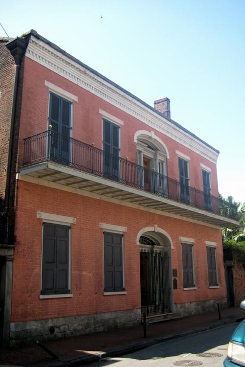geisterhäuser historisches gebeude in new orleans