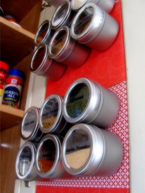 gewürzaufbewahrung runde metall dosen