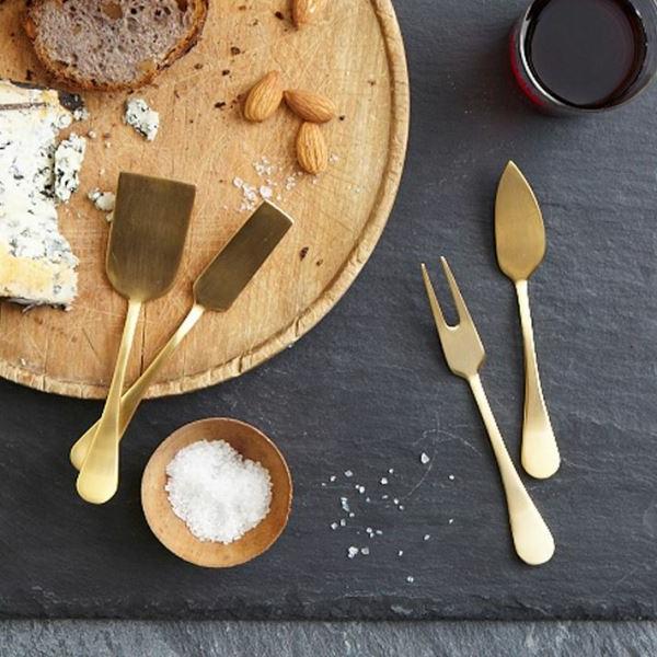 goldtouch käsemesser schlicht und elegant