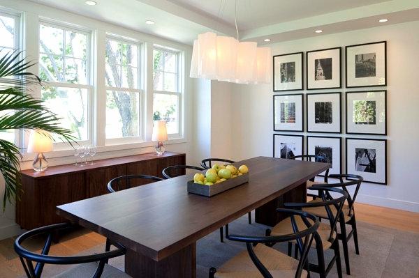 heimwerken eleganter langer esstisch und kommode aus nussbaumholz