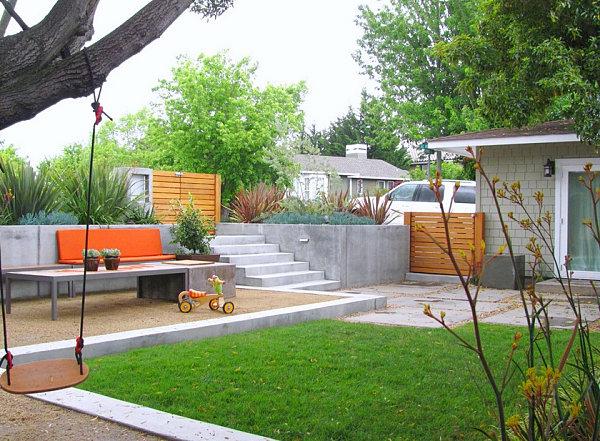 heimwerken mediterrane pflanzen und beton terrassen