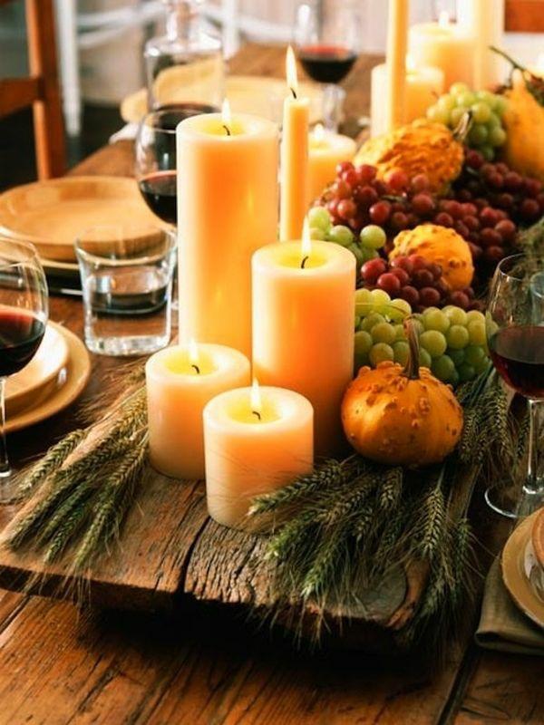 Herbstdekoration aus der Natur  30 tolle Ideen für