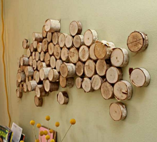 Innovative Wanddekoration selber machen - DIY Wandkunst