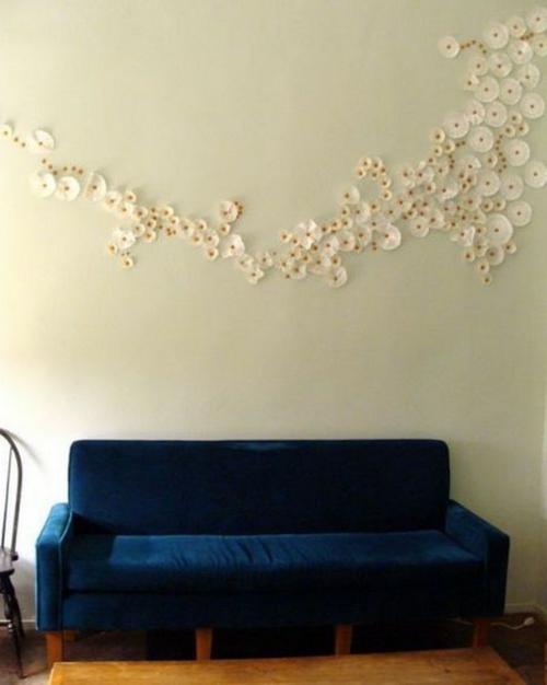 Innovative Wanddekoration Selber Machen Diy Wandkunst