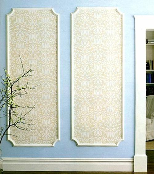 innovative Wand dekoration selber machen wand gestaltung paneele