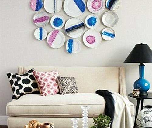 2017 Wanddekoration Wohnzimmer Selber Machen