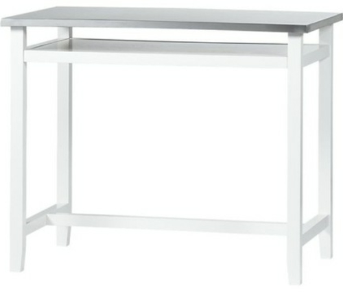 küchenarbeitsflächen weißer tisch minimalistisch