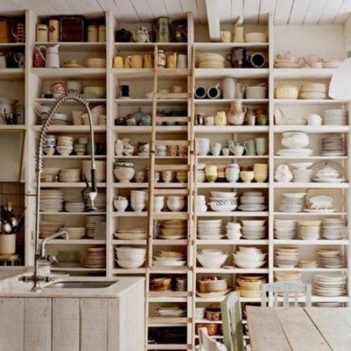 küchenideen wandregal selber bauen