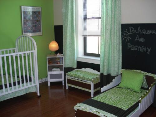 Kinderzimmergestaltung gro artige ideen f r geteilte - Kinderzimmergestaltung baby ...