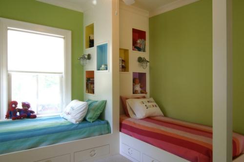 Kinderzimmergestaltung  Kinderzimmergestaltung - großartige Ideen für geteilte Kinderzimmer