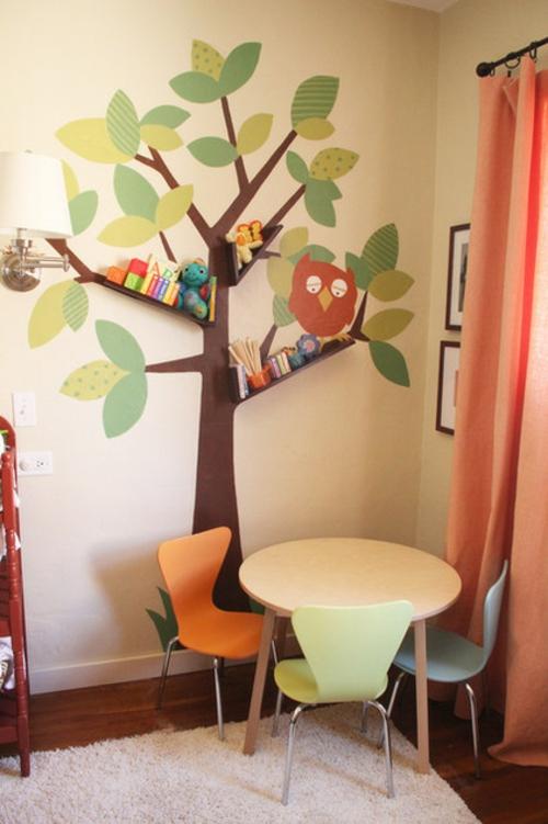 Kinderzimmergestaltung groartige Ideen fr geteilte Kinderzimmer