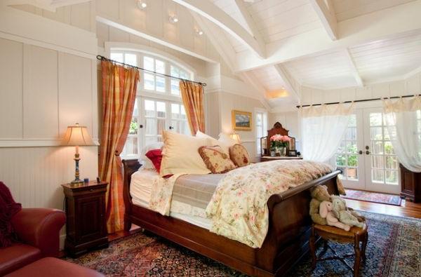 klassisch schlafzimmer schön decke fabelhaft schlittenbett