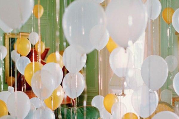 leichte Dekoideen für eine wunderliche Silvesterparty ballon