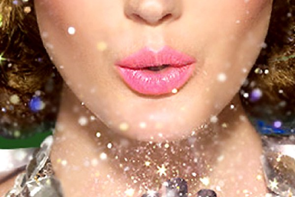 leichte Dekoideen für eine wunderliche Silvesterparty lippenstift