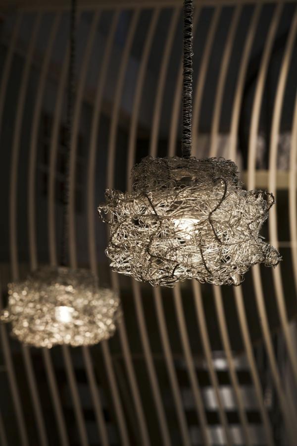 lichtkörper hängelampen raumteiler restaurant vietnam