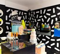 Lustige Wohnideen für coole Inneneinrichtung in bunten Farben