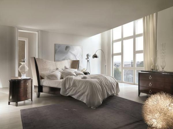 luxus schlafzimmer modenre klassik