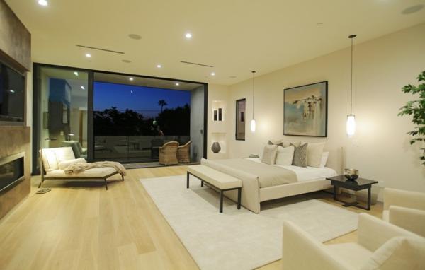 luxushaus mit wasserelementen und modernem design in kalifornien. Black Bedroom Furniture Sets. Home Design Ideas