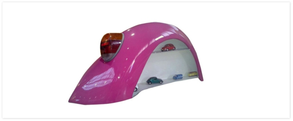 möbel aus autoteilen pinkes sammlung regal