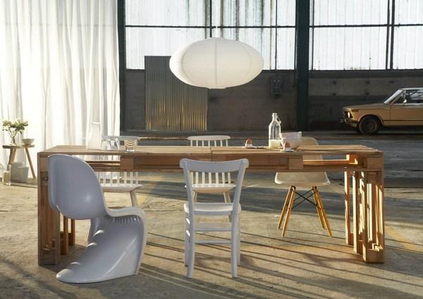 Möbel aus Europaletten - coole DIY Ideen für Sie