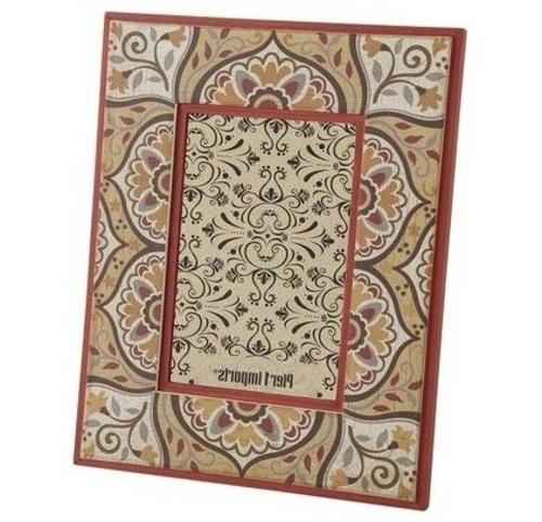marokkanische orientalische muster fotorahmen floral