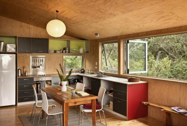 naturhaus mit herrlicher umgebung und offenem grundriss in neuseeland. Black Bedroom Furniture Sets. Home Design Ideas