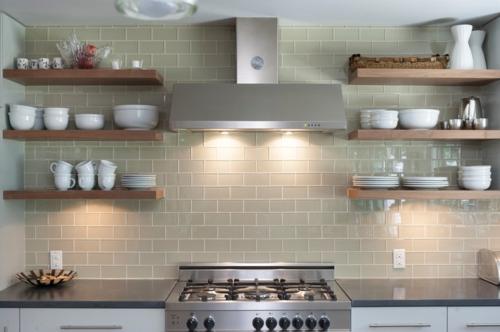 Küchenregal  Offene Küchenregale professionell gestalten - praktische Tipps für Sie