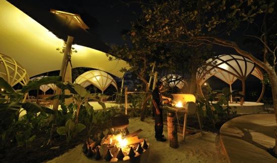 ozean Niyama Tribal nacht warm exotisch äquator