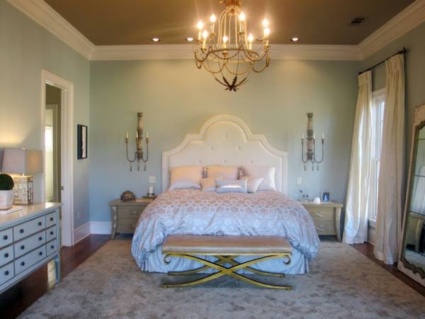 10 romantische schlafzimmer bieten komfort und gem tlichkeit. Black Bedroom Furniture Sets. Home Design Ideas