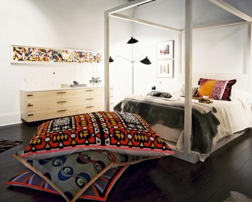 schlafzimmer gestalten würfelförmiges bettkasten
