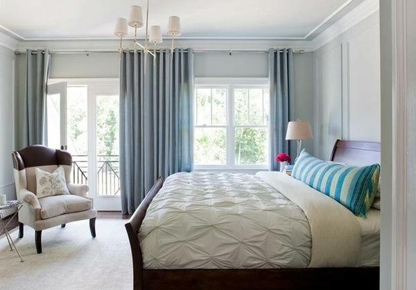 schlittenbett schlafzimmer voller kalt blue schatten