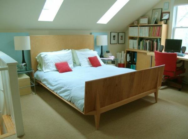 dachwohnung skandinavisch minimalistisch | möbelideen