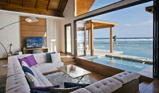 sofas wohnzimmer blick Niyama ozean pavilion wohnlandschaften