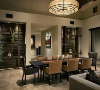 Essen Sie mit Klasse – stilvolles Speisezimmer Interieur