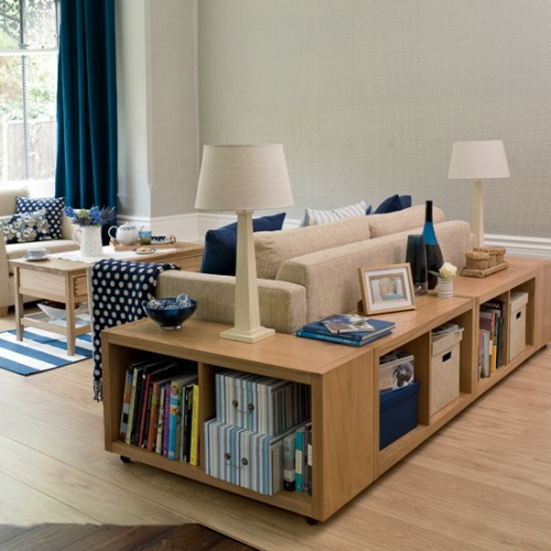 Stauraum ideen im wohnzimmer 30 pfiffige einrichtungen - Anrichte wohnzimmer ...