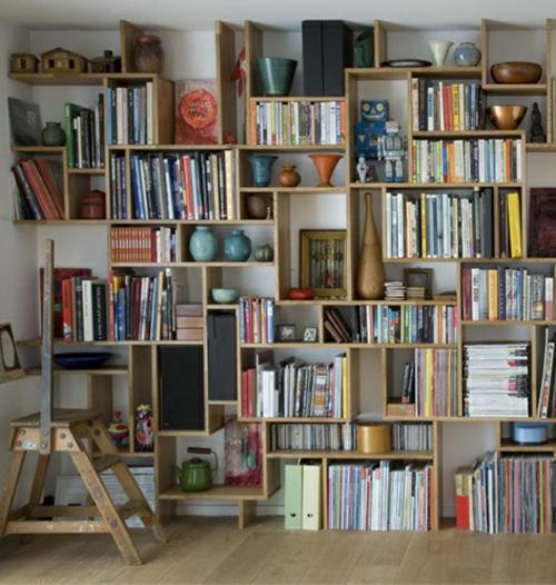 Stauraum ideen im wohnzimmer 30 pfiffige einrichtungen for Wandregal wohnzimmer deko