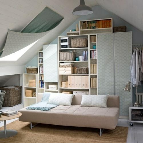 Stauraum ideen im wohnzimmer 30 pfiffige einrichtungen - Brennholz lagern ideen wohnzimmer garten ...