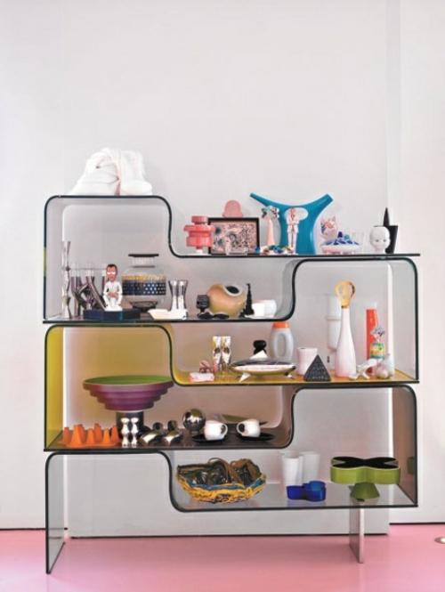Stauraum ideen im wohnzimmer 30 pfiffige einrichtungen - Moderne anrichte ...