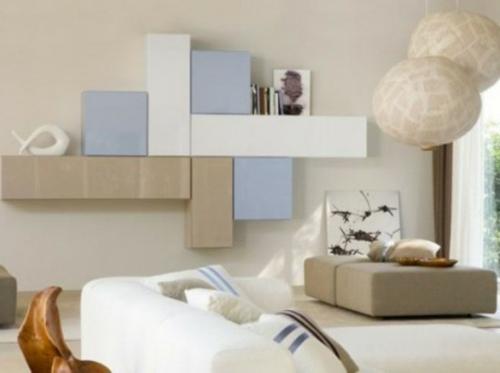 Stauraum ideen im wohnzimmer 30 pfiffige einrichtungen for Mobili angolari ikea