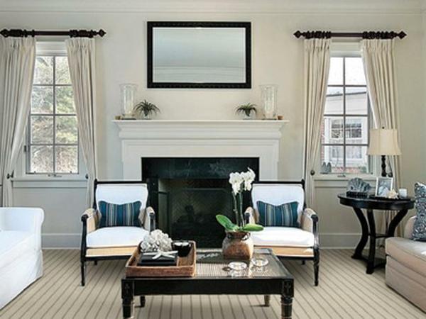 teppiche elegant mit feinen streifen