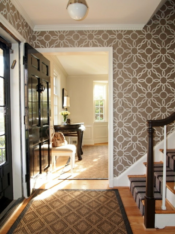 wandtapete 10 schicke ideen die ihren raum funkeln lassen. Black Bedroom Furniture Sets. Home Design Ideas
