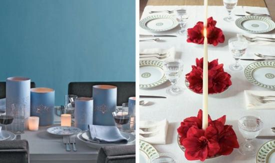 weihnachtliche tischdeko 25 weihnachtsideen zum nachmachen. Black Bedroom Furniture Sets. Home Design Ideas