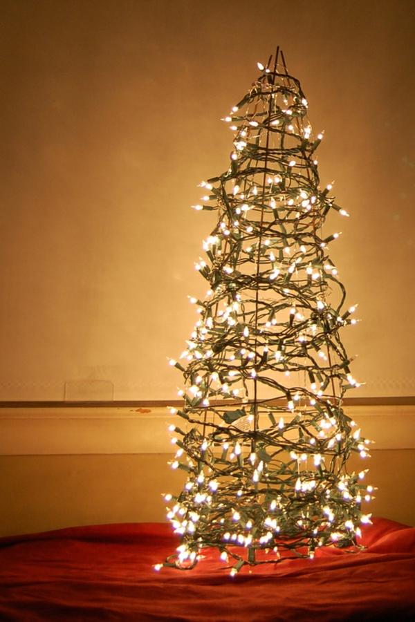 Weihnachtsbaum basteln - 24 unglaublich kreative DIY Ideen