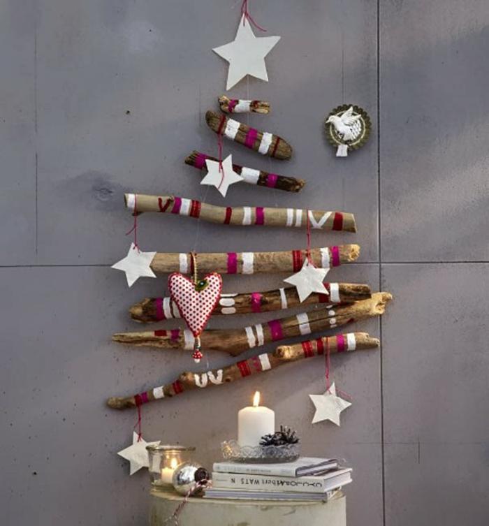 weihnachtsdekoration sterne weihnachtsbaum treibholz sterne christbaumschmuck