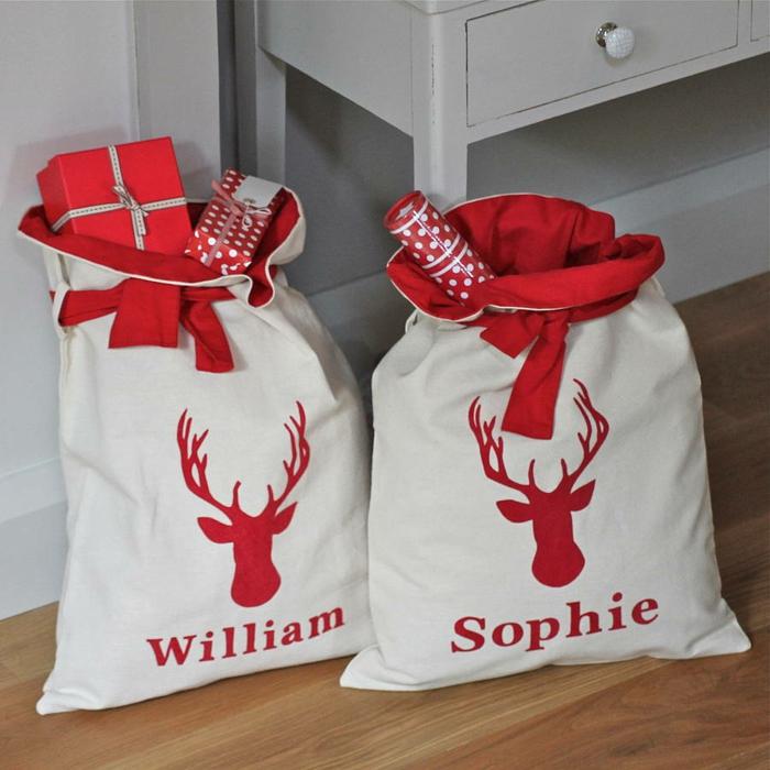 weihnachtsdekoration weihnachtsschmuck weihnachtsdeko geschenksack